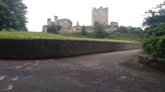 Conisbrough Castle: from afar