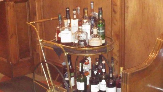 The Copper Door: bar cart