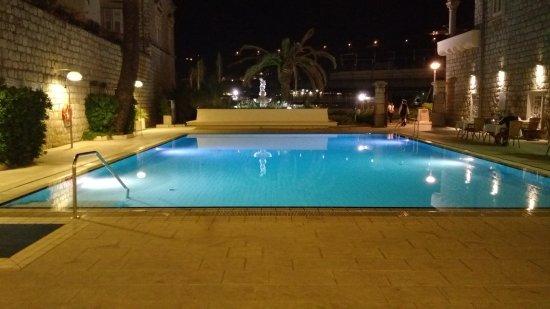 Hotel Lapad: From hotel snack bar terrace