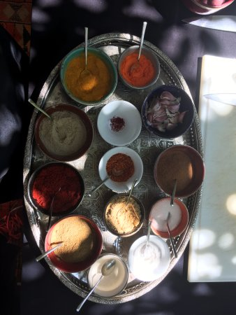 Palais Amani : Spices used in the cooking class