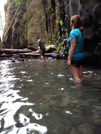 Cascade Locks, Oregón: water