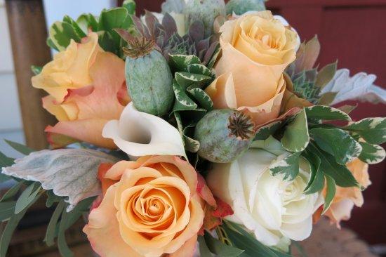 Simsbury, CT: My bridal Bouquet