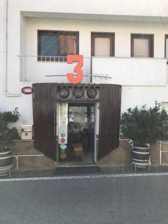 Tondela, Portugal: Entrada do restaurante