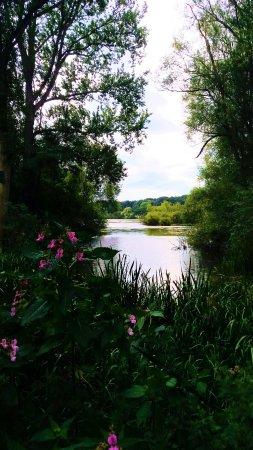 Renishaw, UK: one of the lakes