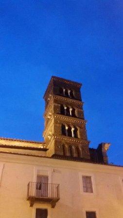 campanile romanico chiesa di S. Paolo a Genazzano