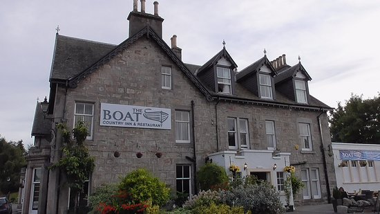 Boat of Garten, UK: Front elevation