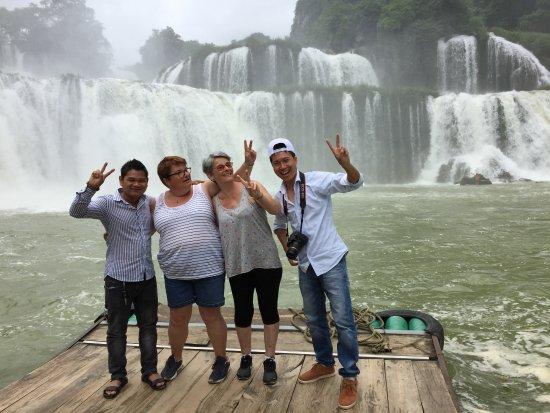 Compagnon Voyage: chutte d'eau Ban Goc, Cao Bang