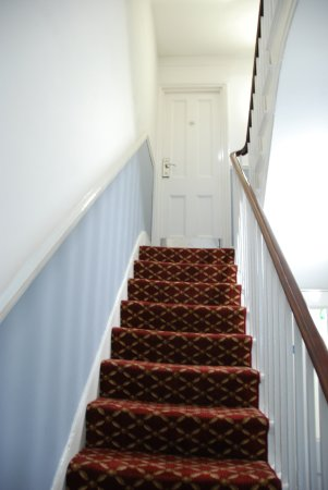 The Darlington Hyde Park : The door to my room is at the top of the stairs
