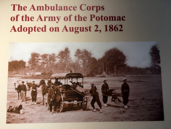 Keedysville, MD: The exhibit at the Pry House Field Hospital Museum
