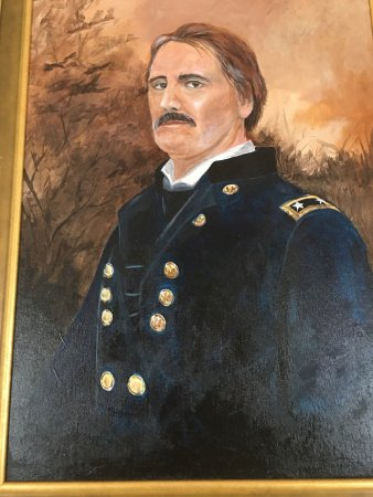 Keedysville, MD: General Israel Bush Richardson exhibit at the Pry House Field Hospital Museum