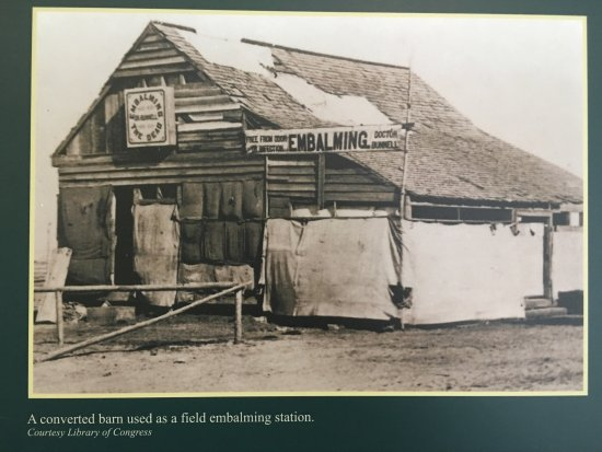 Keedysville, MD: The story of embalming at the exhibit at Pry House Field Hospital Museum