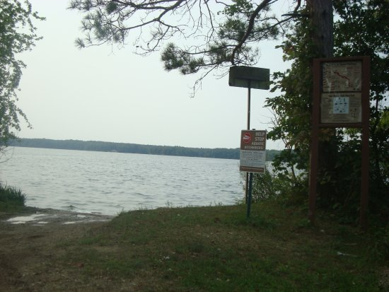 Boat launch Lake Allegan, Allegan MI