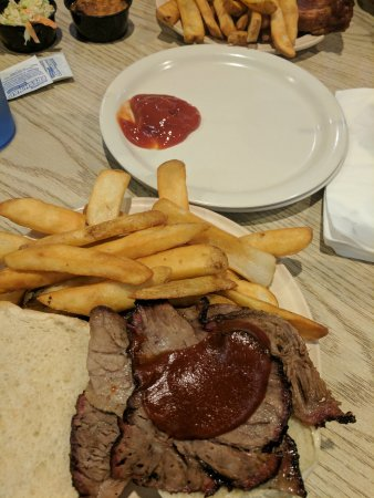 Ossipee, NH: This is brisket sandwich