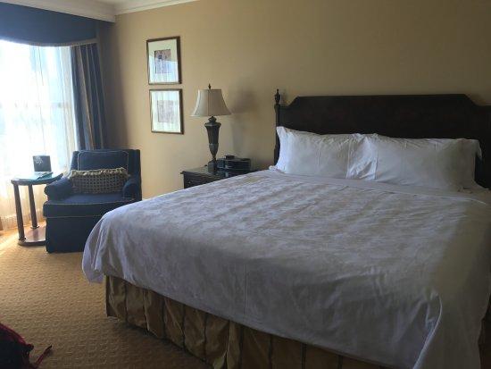 The Langham Huntington, Pasadena, Los Angeles: Our King room.