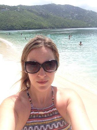 Magens Bay: beach