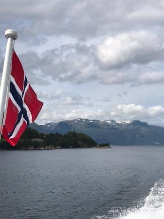First Hotel Marin: Passeio de barcos no fjorde