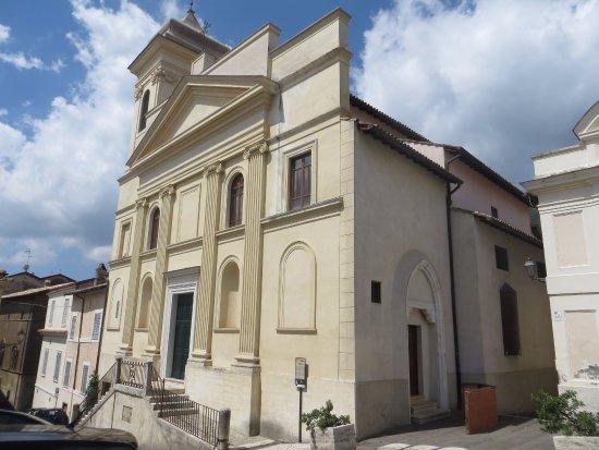 Genazzano, Italien: Facciata chiesa di S. Nicola