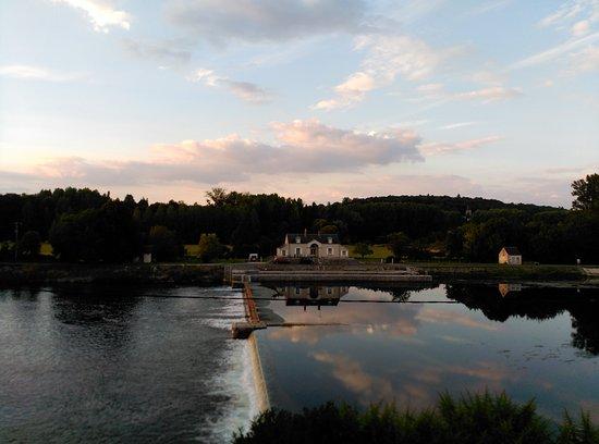 Saint-Georges-sur-Cher, Prancis: Vista desde habitación