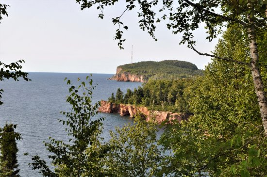 Silver Bay, MN: View on Shovel Point Trail