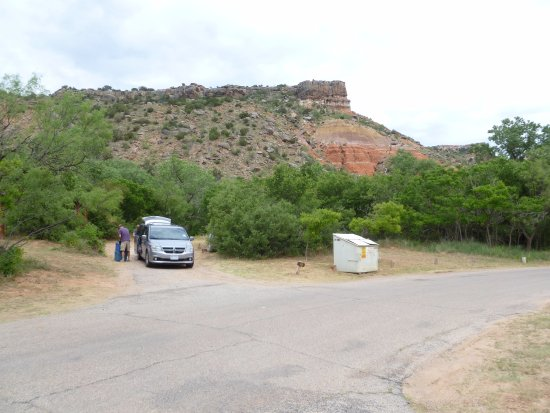 Canyon, Техас: Campsite