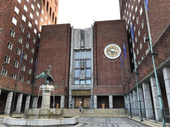 Comfort Hotel Boersparken: Prefeitura onde é entregue o prêmio Nobel da paz