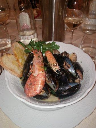 Palaia, Italia: zuppetta di mare