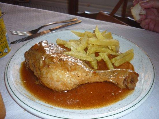Restaurante Vega Don Sancho : POLLO A LA NARANJA