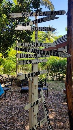 Kaneohe, Hawaï: Arrow sign