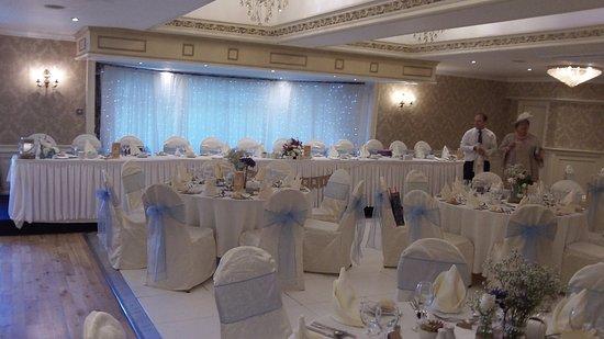 The Bushtown Hotel: Room set up for wedding