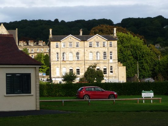 The County Hotel: Back of hotel from recreation ground
