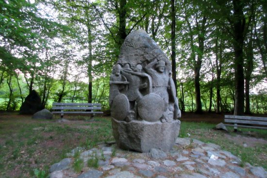 Vejen, Danimarka: Magnusstenen