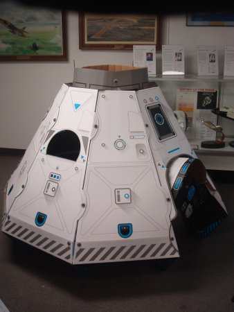 Middle River, MD: The Museum's youngest visitors can explore a kid size space capsule.