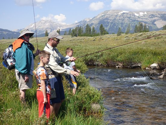 Flying Pig Adventure Company : Fishing in Yellowstone