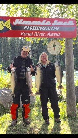Kenai, AK: Salmon fishing