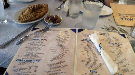 Bloomfield, Nueva Jersey: menu de Stamna