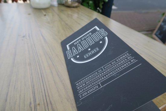 Eemnes, เนเธอร์แลนด์: extensive lunch menu