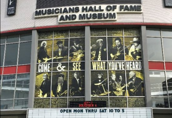 Musicians Hall of Fame and Museum: Come See What You've Heard
