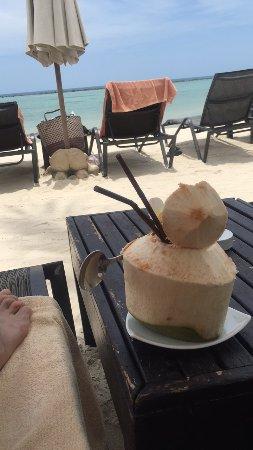 Dara Samui Beach Resort : Fresh coconut