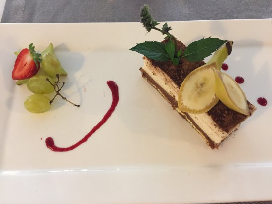 Chailland, Frankrike: Banana millefeuille