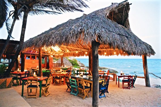 The Restaurant at ZAMAS: Our Beachfront Palapa dining