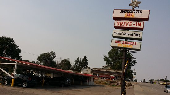 Lusk, WY: Formerly BQ BBQ and later Broaster Chicken, now is Smokehouse 307
