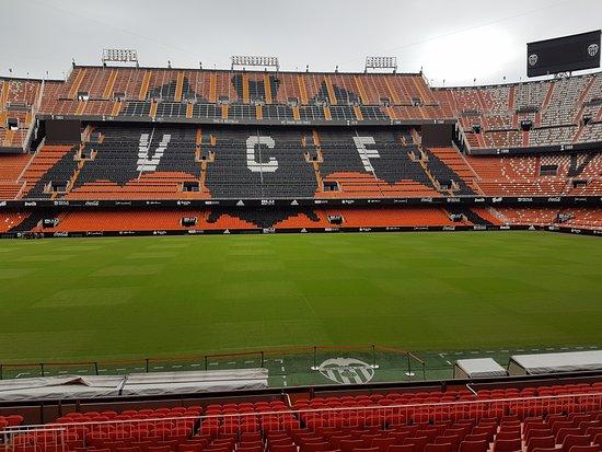 Mestalla Forever Tour: tribuna fronte