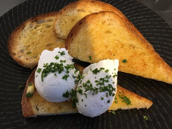 Greater Sydney, Austrália: Poached eggs on toast