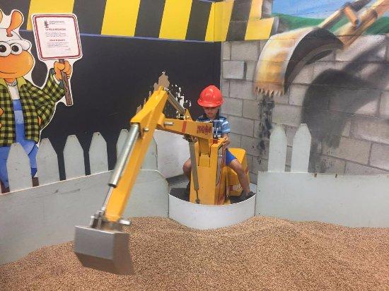 Musee Pour Enfants: Zone construction