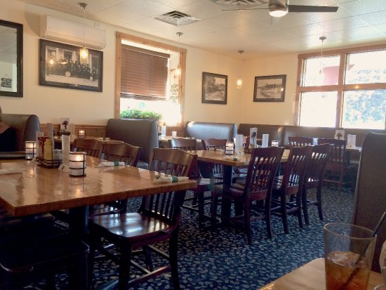 Bristol, NH: Recently redecorated and renovated. Looks great! Comfortable seating.
