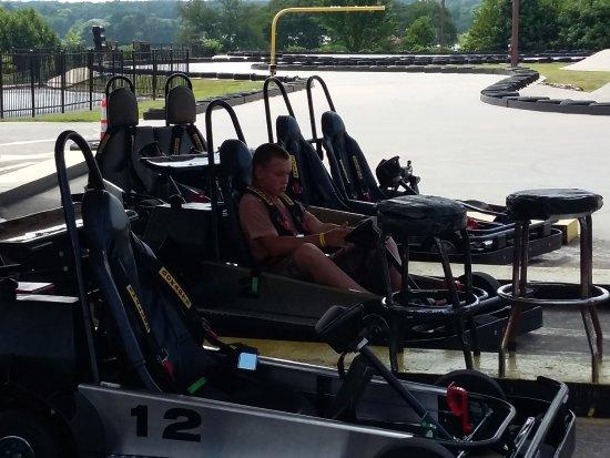 Funtrackers Family Park: Go-carts
