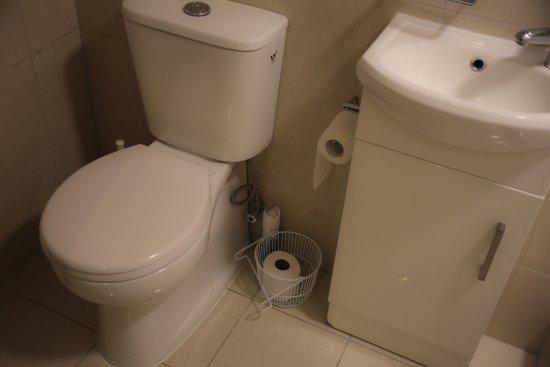 Red Monkey Ponsonby Manor: Bathroom in outside unit