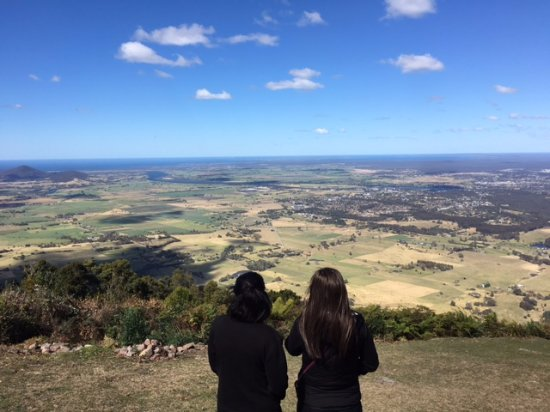 Beaumont, Australia: The view from Cambewarra Mountain Lookout