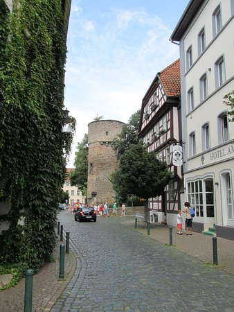 across from the main fulda cathedral
