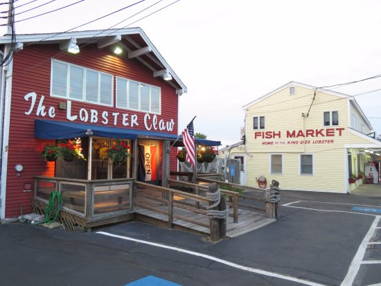 Rodeway Inn: outside the Lobster Claw